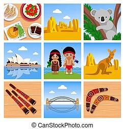 Travel to Australia.