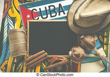 Travel to Cuba, cross processed photo