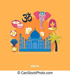 Travel To India Background
