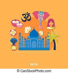 Travel To India Background