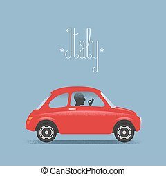 Travel to Italy illustration
