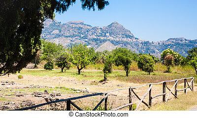 Naxos Archaeological Park in Giardini Naxos town - travel to...
