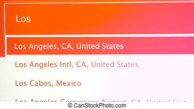 Travel To Los Angeles California USA