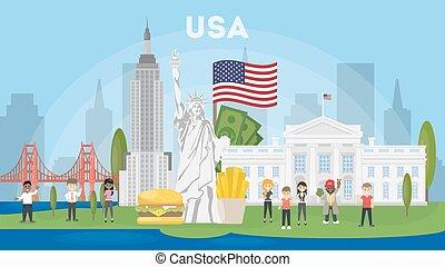 Travel to USA.