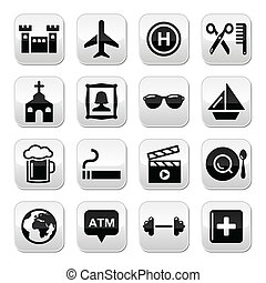 Travel tourism and transport vector