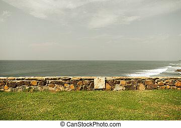 view to sea or ocean on Sri Lanka