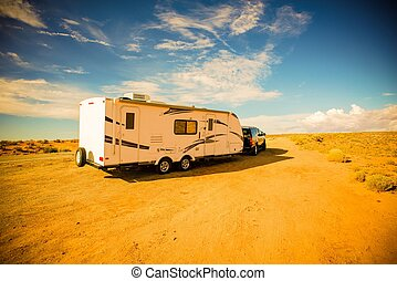 Travel Trailer Adventures. Rving in America South-West. RV...