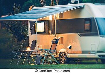 Travel Trailer Caravaning