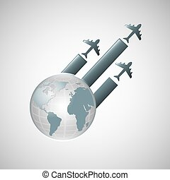 travel transportation airplane