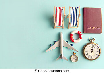 Travel vacation beach accessories