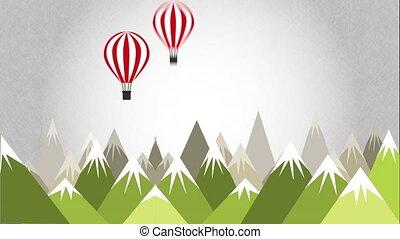 Travel vacation design, Video Animation HD1080