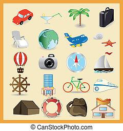 Travel vector set