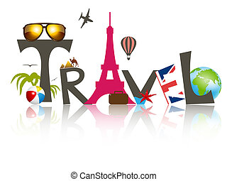 Travel - Vector travel business design