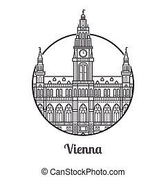 Travel Vienna Icon