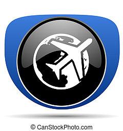 Travel web icon
