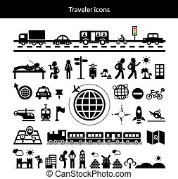 traveler explorer icon