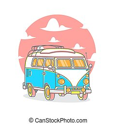 Traveling Car