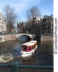 Traveling in Amsterdam