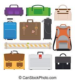 Traveling Luggage icons