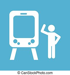 train transportation icon