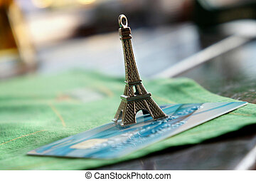 Traveling with plastic card