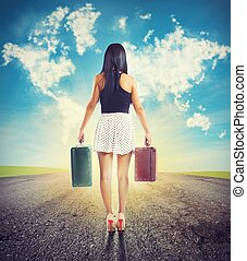 Traveling without a destination