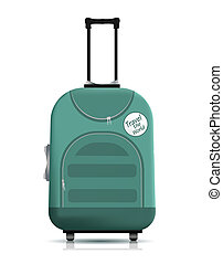 travell, maleta