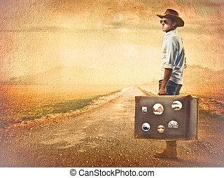 Traveller man