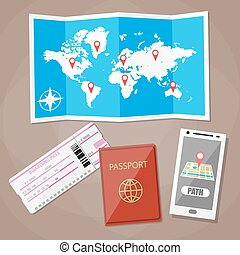 travel and vacations concept.