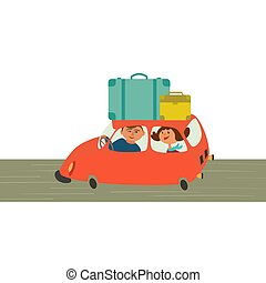 Travelling by car
