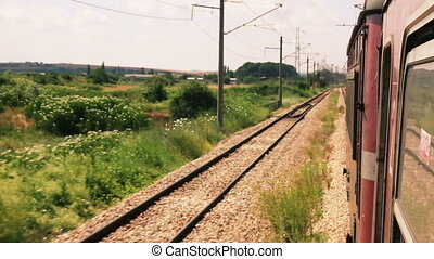 Travelling by European train