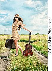 travelling guitar