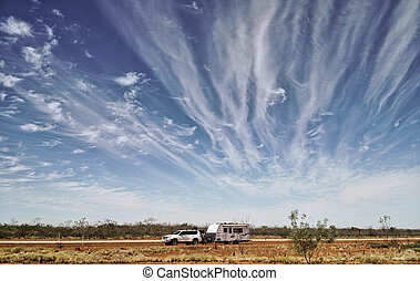Travelling in the Outback Austrailia in Northern Territory...