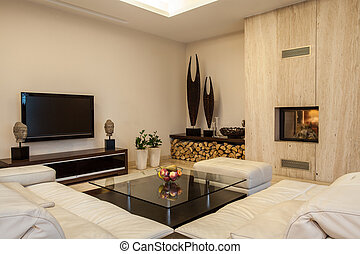 Travertine house: Interior creative solutions - Travertine ...