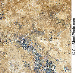 travertine, marmor, beschaffenheit