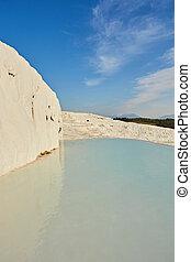 Travertine pools and terraces, Pamukkale