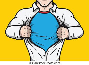 travestito, libro comic, superhero