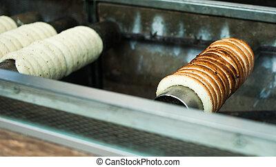 trdelink - traditional czech roll bread