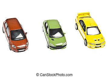 tre, bilerne