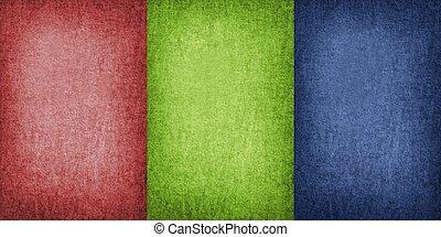 tre, colori
