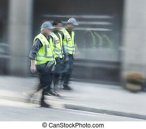 tre, security bevogter