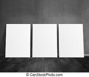 tre, vuoto, manifesto
