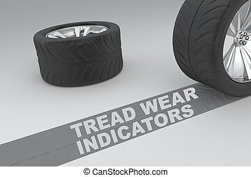 Tread Wear Indicators safety concept