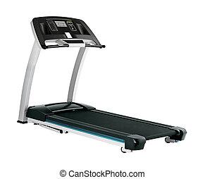 treadmill, branco, fundo