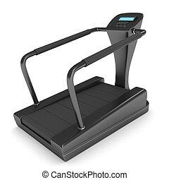 Treadmill - 3D Illustration of a Treadmill