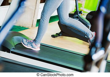 Treadmill Fitness Running