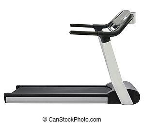treadmill, isolado, branco