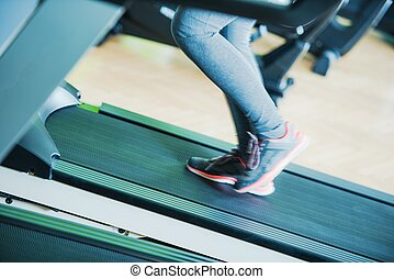 Treadmill Run Exercise
