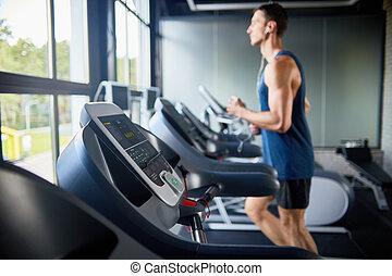 Treadmills in Row