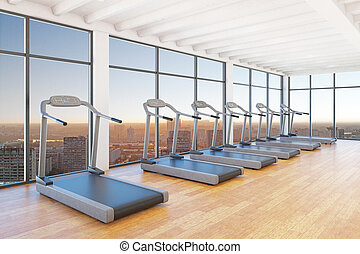 treadmills staying in room